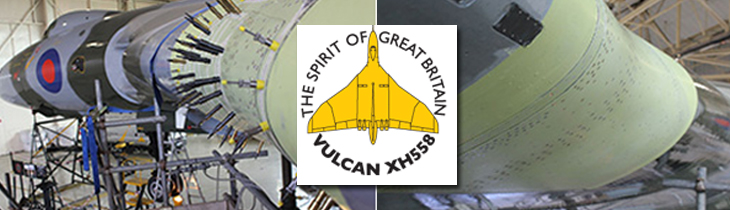 Vulcan to the Sky – Wing Modification moves into the final phases of installation